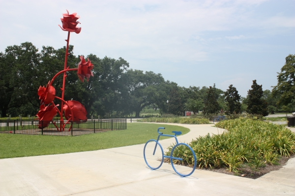 New Bike Racks At New Orleans City Park