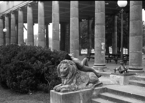 Philip Beech at the Peristyle, 1975