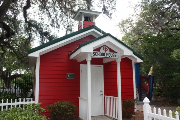 Little Red School House is back in City Park's Storyland