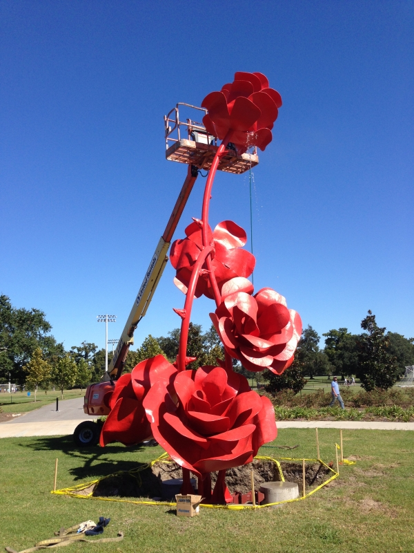 City Park S Art Scene Blooms With New Sculpture New