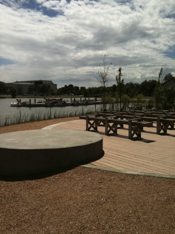 The outdoor classroom at Big Lake
