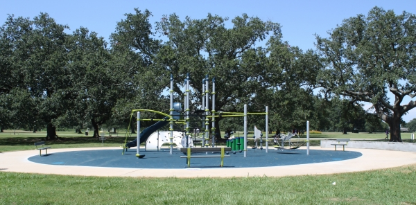 The Sir Cumference playground