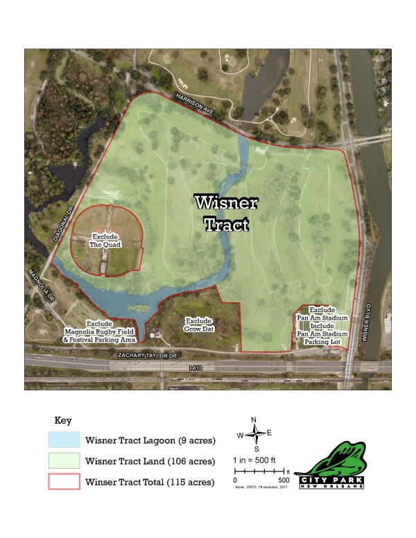 Wisner Tract Map
