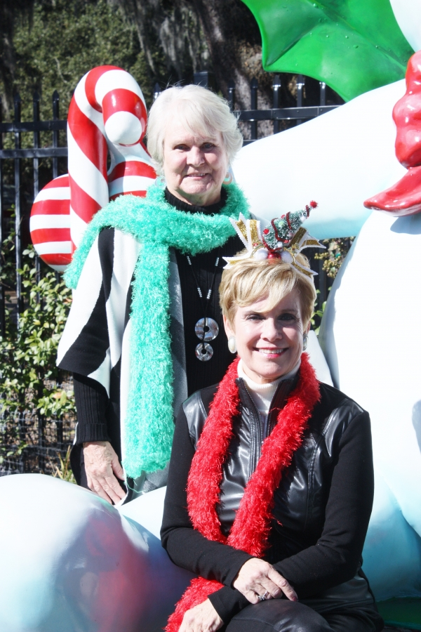 Mister Bingle with Barbara Hammett and Janet LaRue