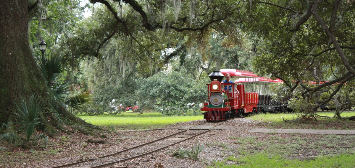 Daily Train Rides | New Orleans City Park