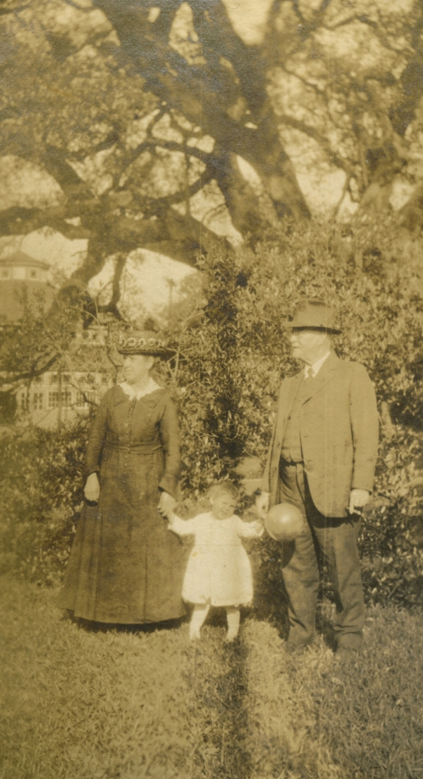 Catherine and Norbert Morano with granddaughter Claire Morano circa 1914