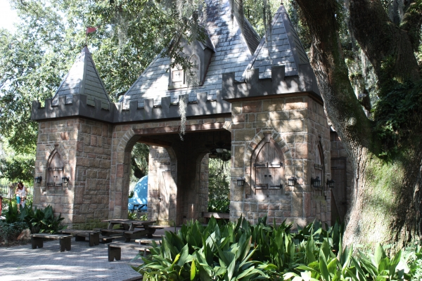 Storyland Castle Party Area