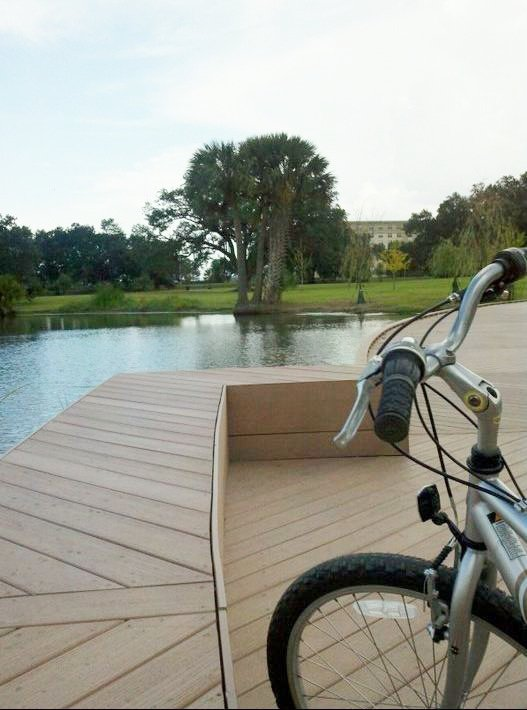 Take your bikes out to Big Lake!
