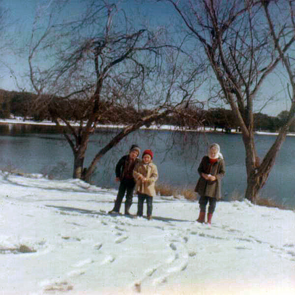 1963 Snow Day in City Park