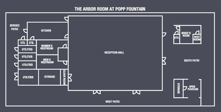 Popp Fountain And Arbor Room At Popp Fountain New